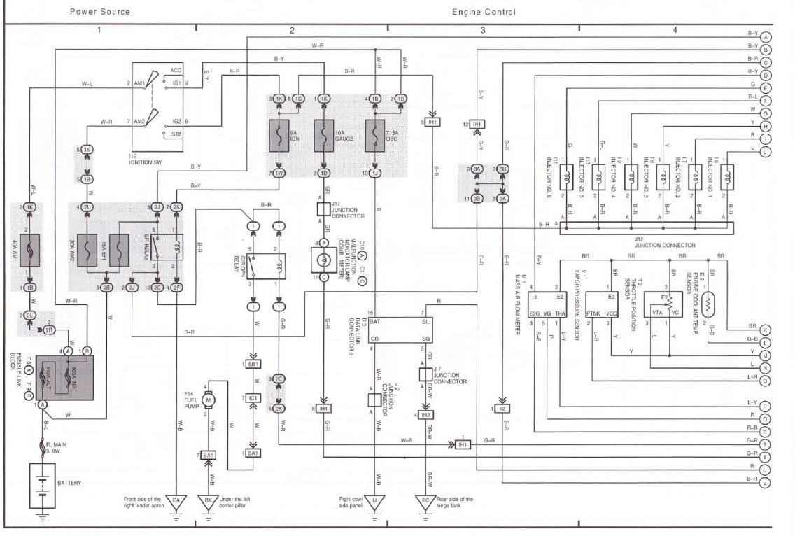 [DIAGRAM] 2004 Toyota Corolla Ce Fuse Box Diagram FULL