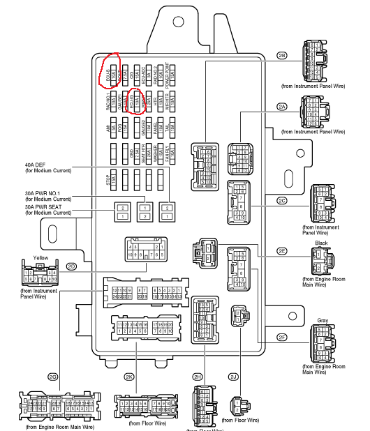 2002 camry fuse box diagram?? | Toyota Nation ForumToyota Nation