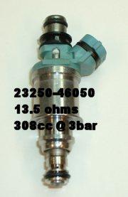 Injector flow rates for 3VZ, 1MZ (w/ some 2JZ, 1UZ, 3MZ