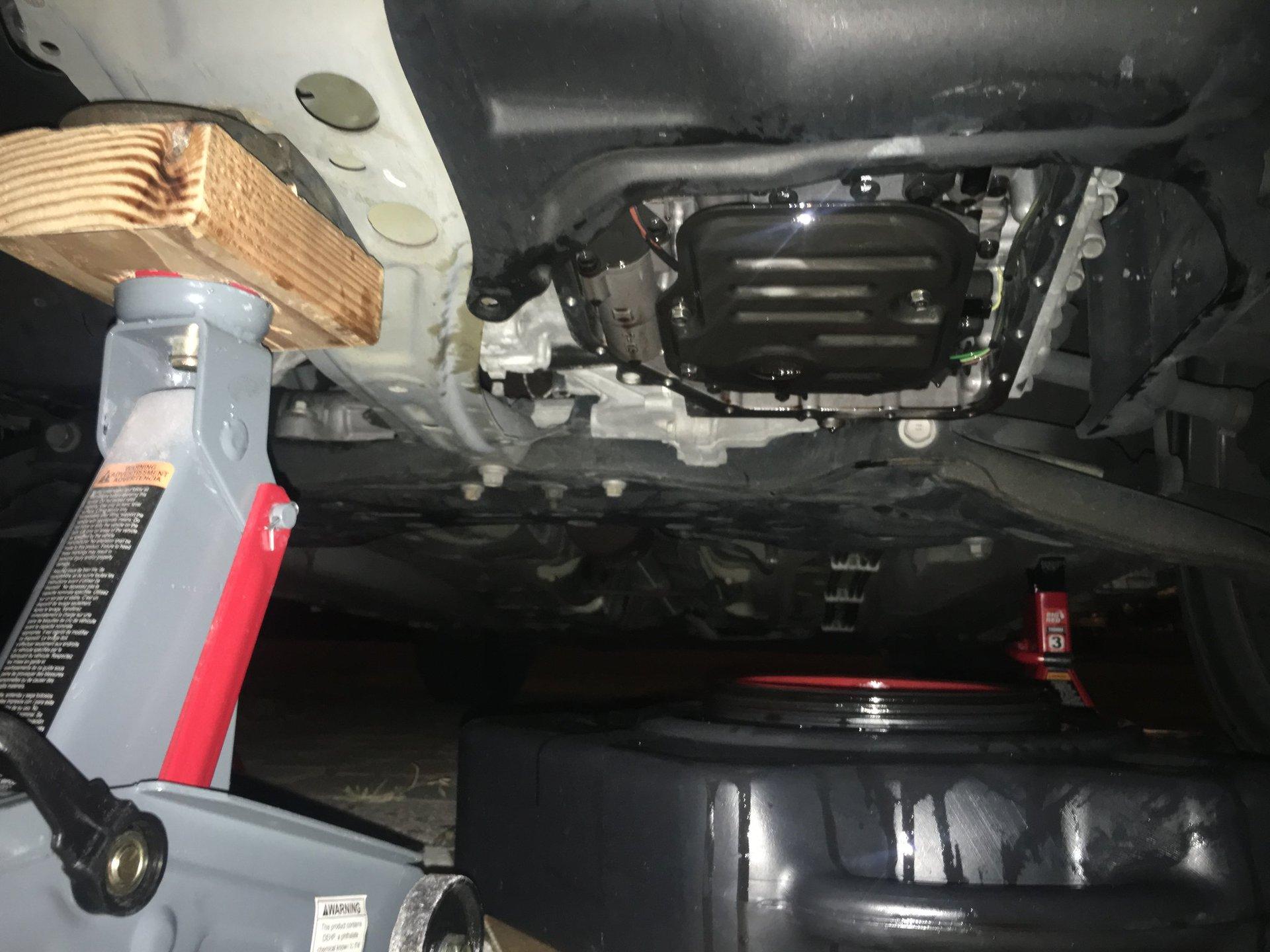 2013 Corolla A/T (U341E) Transmission Slipping in Drive/3/2