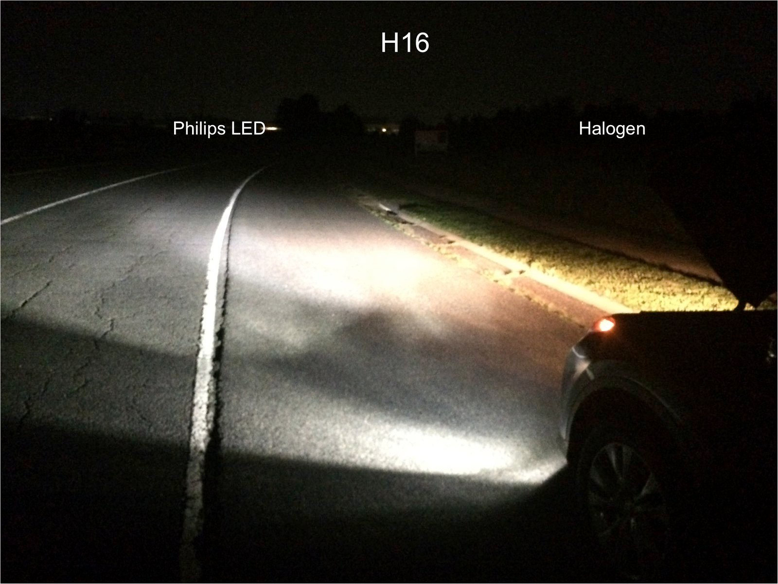 H8/H11/H16 Philips X-treme Ultinon LED bulb - Review