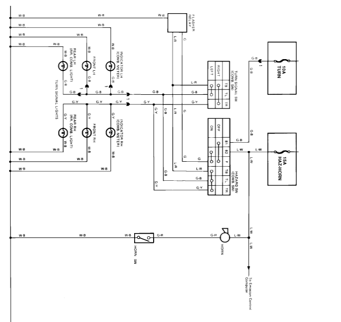 Horn Does Not Work...?   Toyota Nation Forum Hazzard Wiring Diagram Toyota Pickup on