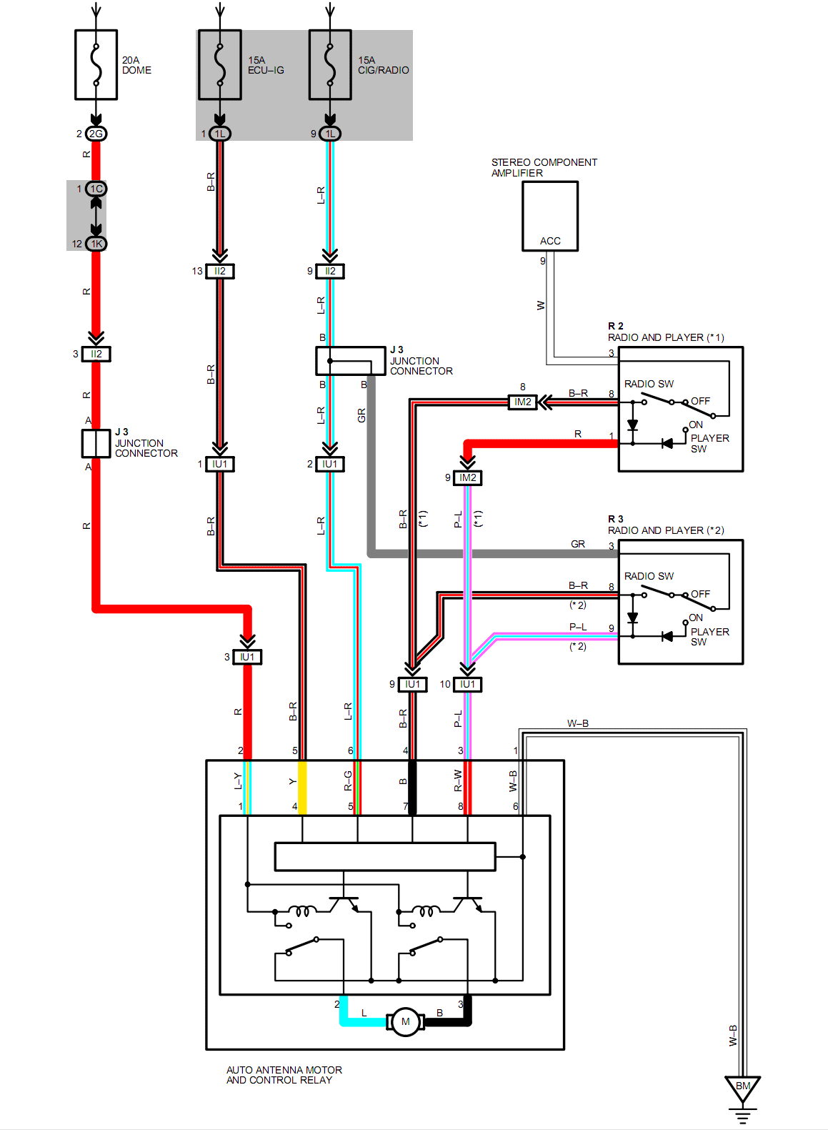 Power Antenna Wiring Question