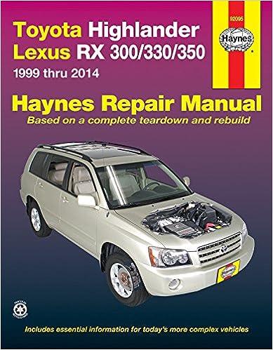 Highlander Repair Manual | Toyota Nation Forum