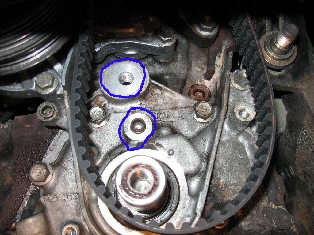 DIY Timing belt and water pump replacement Corolla 93-97