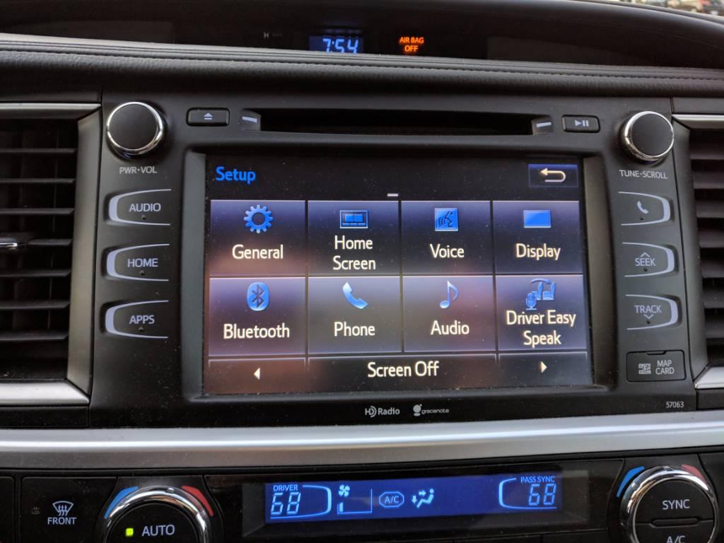 Head unit software updates?   Toyota Nation Forum