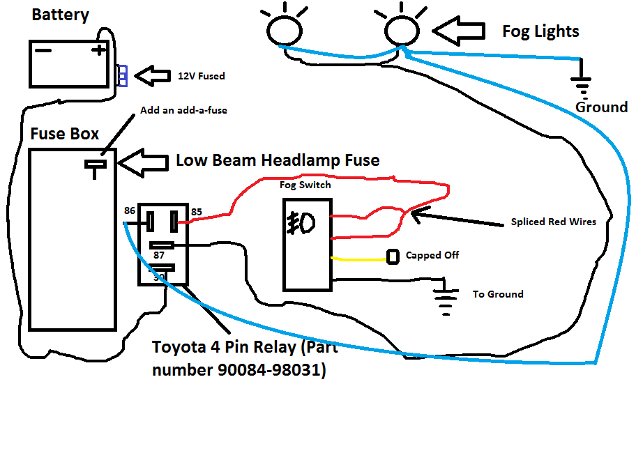 Factory Style Fog Wiring Toyota Nation Forum