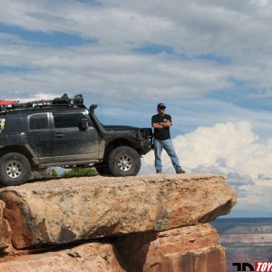 The Raptor on Top Of The World - MOAB, UT