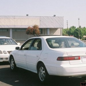 My Camry and a GS400 1
