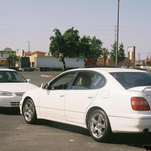 My Camry and a GS400 2