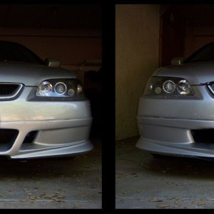 Accord Custom front WW bumper