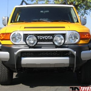 Randy Ellis Design Light Mount Bar for 2005-2009 Toyota FJ!