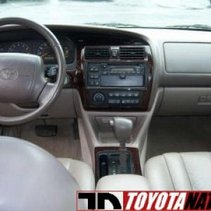 Our Former 1998 Toyota Avalon XLS Interior