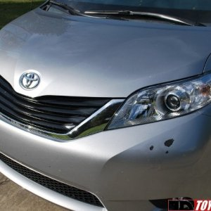 2013 sienna with paint problems