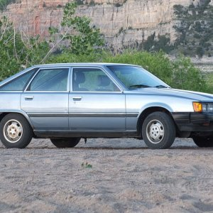 Well Preserved 1983 Camry Hatchback