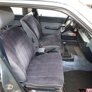 Well Preserved 1983 Camry Hatchback - Interior