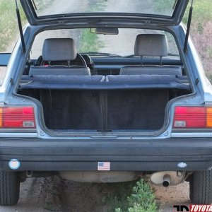 Well Preserved 1983 Camry Hatchback - Rear Hatch