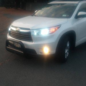 2014 Highlander Limited Platinum Blizzard Pearl